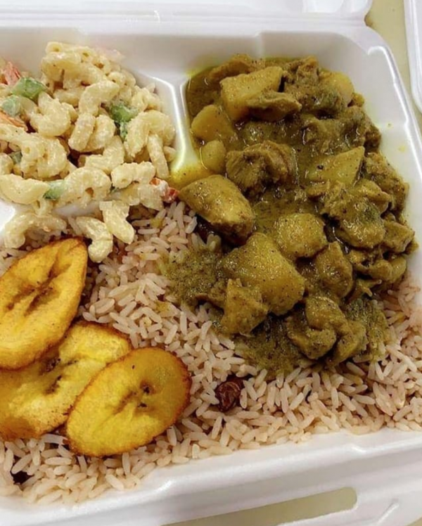 Curry Goat Platter